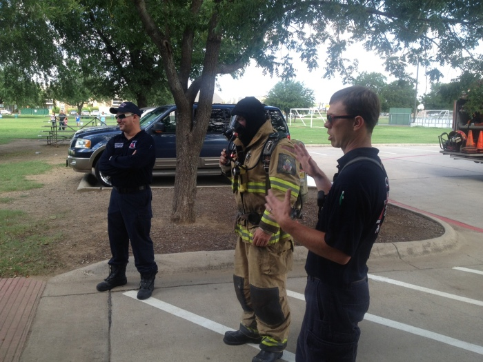 Bunker gear and scba