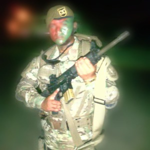 Central American National Police Special Operator